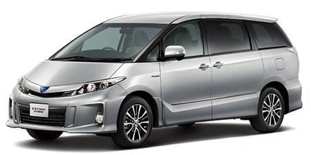 トヨタ エスティマハイブリッド X (2012年5月モデル)