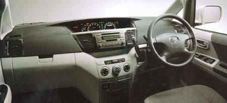 トヨタ ヴォクシー X Gエディション・ナビパッケージ (2001年11月モデル)