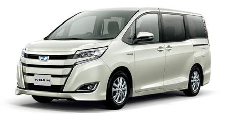 トヨタ ノア G (2017年7月モデル)