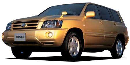 トヨタ クルーガーL 2.4S Xパッケージ (2003年8月モデル)