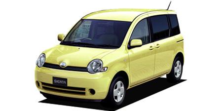 トヨタ シエンタ G (2003年9月モデル)