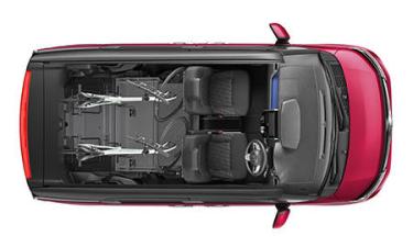 トヨタ ルーミー カスタムG (2016年11月モデル)