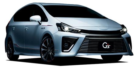 トヨタ プリウスα Sツーリングセレクション・G's (2015年2月モデル)