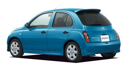日産 マーチ 14s (2003年7月モデル)
