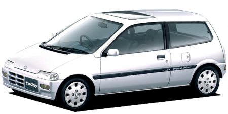 ホンダ トゥデイ F (1988年2月モデル)