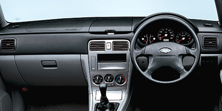 スバル フォレスター XT (2003年2月モデル)