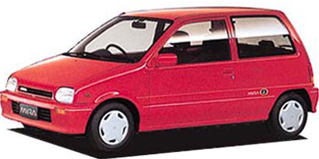 ダイハツ ミラ TR-4 EFI (1990年3月モデル)