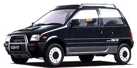 ダイハツ ミラ RV-4 (1992年8月モデル)