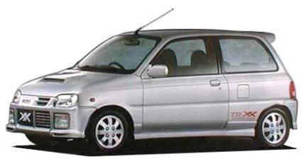 ダイハツ ミラTR-XX TR-XXアバンツァート (1997年5月モデル)