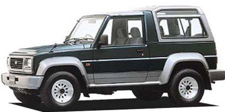 ダイハツ ラガー ターボワゴン・レジントップ SE (1995年5月モデル)