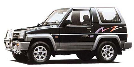 ダイハツ ロッキー マリンランナー (1995年5月モデル)