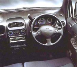 ダイハツ ムーヴ エアロダウンカスタムXX M4 (1999年11月モデル)