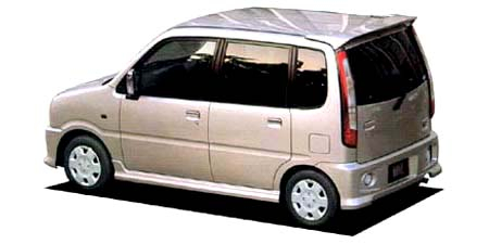 ダイハツ ムーヴ カスタムパルコ ナビエディション (2002年6月モデル)