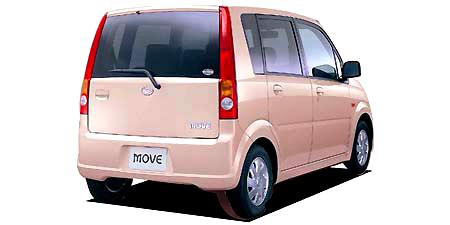 ダイハツ ムーヴ X (2002年10月モデル)