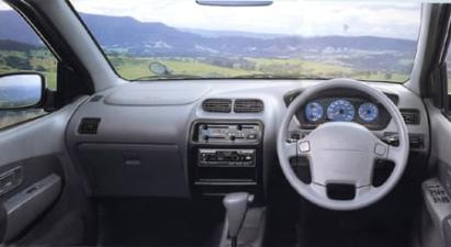 ダイハツ テリオス CL (1997年4月モデル)