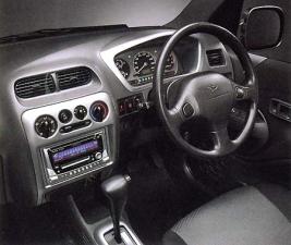 ダイハツ テリオス カスタムメモリアルエディション (2002年1月モデル)