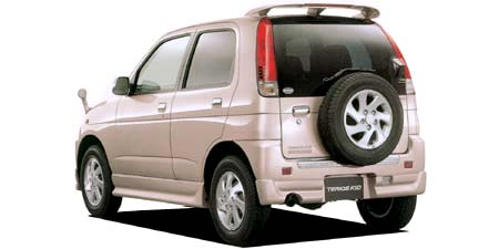 ダイハツ テリオスキッド カスタム メモリアルエディション (2002年1月モデル)