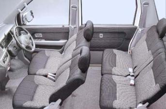 ダイハツ アトレーワゴン エアロダウンビレットターボ ロールーフ (2001年1月モデル)