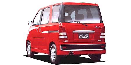 ダイハツ アトレーワゴン カスタムターボ ロールーフ (2001年1月モデル)
