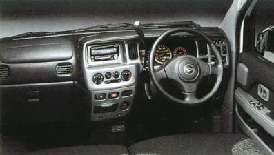 ダイハツ アトレーワゴン エアロダウンビレットターボ ロールーフ (2002年1月モデル)