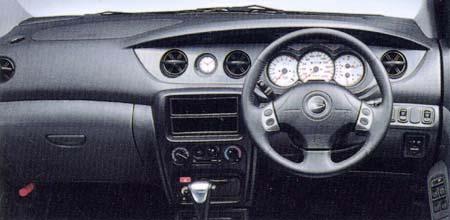 ダイハツ YRV パルコターボ (2001年12月モデル)
