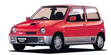 スズキ アルトワークス RS/X (1991年9月モデル)