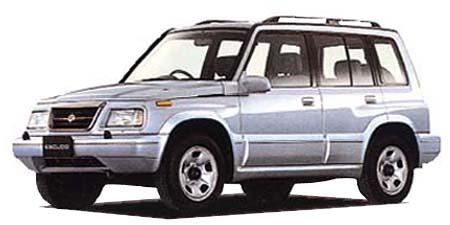 スズキ エスクード 5ドア 2000ディーゼル (1996年10月モデル)
