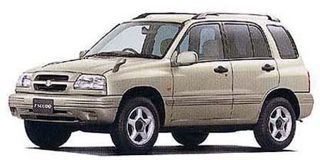 スズキ エスクード 5ドア V6-2500 (1998年2月モデル)