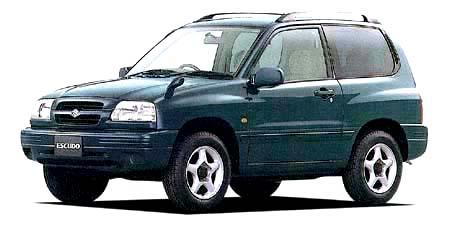 スズキ エスクード 3ドア 1600JZ (1999年6月モデル)