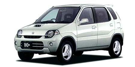 スズキ Kei 5ドア Sタイプ (2000年5月モデル)