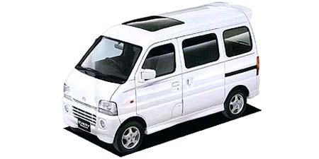 スズキ エブリイワゴン ジョイポップエアロターボ (1999年6月モデル)