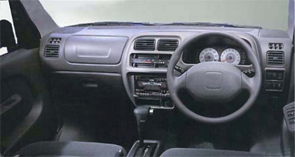 スズキ エブリイワゴン ジョイポップターボ (2000年5月モデル)