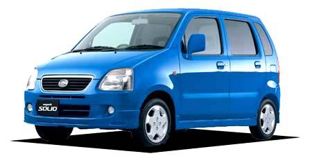 スズキ ワゴンRソリオ ソリオSWT (2001年9月モデル)