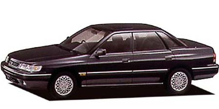 いすゞ アスカ CXタイプZ 4WD (1992年6月モデル)