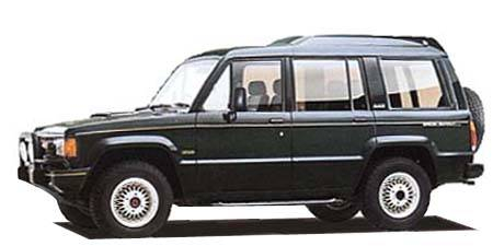 いすゞ ビッグホーン スペシャルエディションバイロータス ロング ハイルーフ (1990年5月モデル)