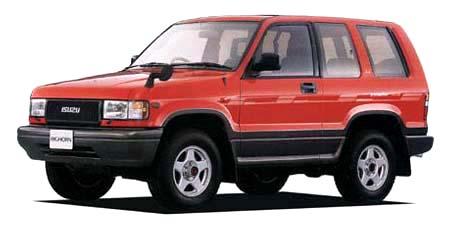 いすゞ ビッグホーン イルムシャーRS ショート (1992年10月モデル)