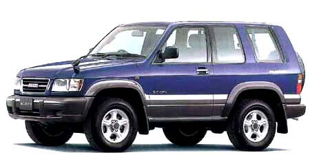 いすゞ ビッグホーン プレジール ショート (1998年2月モデル)
