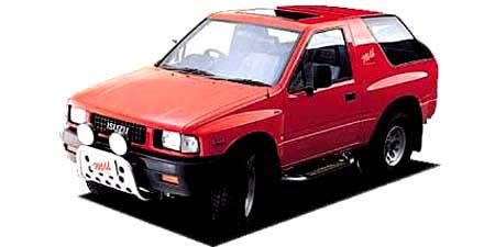 いすゞ ミュー メタルトップ XS (1990年8月モデル)