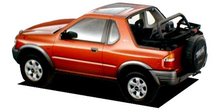 いすゞ ミュー オープントップ (1998年6月モデル)
