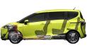 トヨタ シエンタ ハイブリッドG (2015年7月モデル)