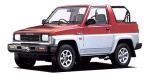 ダイハツ ロッキー DX (1990年6月モデル)