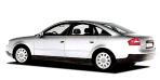 アウディ A6 2.8クワトロ (2000年10月モデル)