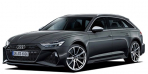 アウディ RS6アバント エアサスペンション装着車 (2021年1月モデル)