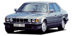 BMW 7シリーズ 740iL (1992年11月モデル)