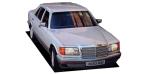 メルセデス・ベンツ Sクラス 300SE (1989年10月モデル)