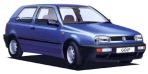フォルクスワーゲン ゴルフ CLi (1992年10月モデル)