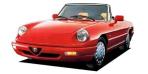 アルファロメオ アルファスパイダー ベースグレード (1991年1月モデル)