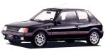 プジョー 205 XS (1989年9月モデル)
