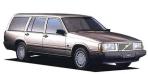 ボルボ 740エステート GL (1989年10月モデル)