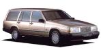 ボルボ 740エステート GL (1991年10月モデル)